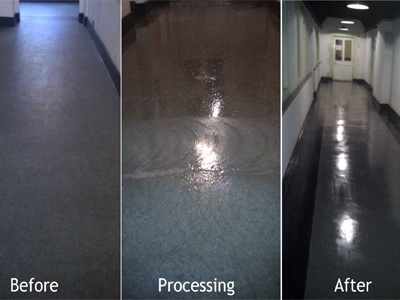 Commercial Hard Floor Cleaning in London