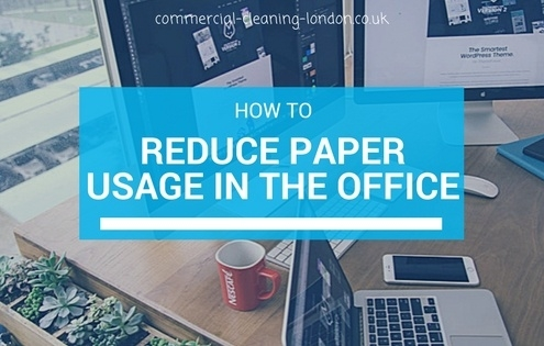 reducing paper usage