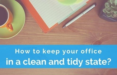 tips for clean office