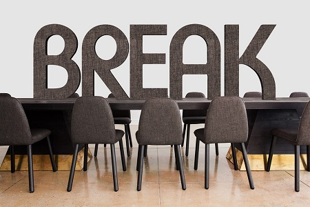 Conference Office Break Interruption Team